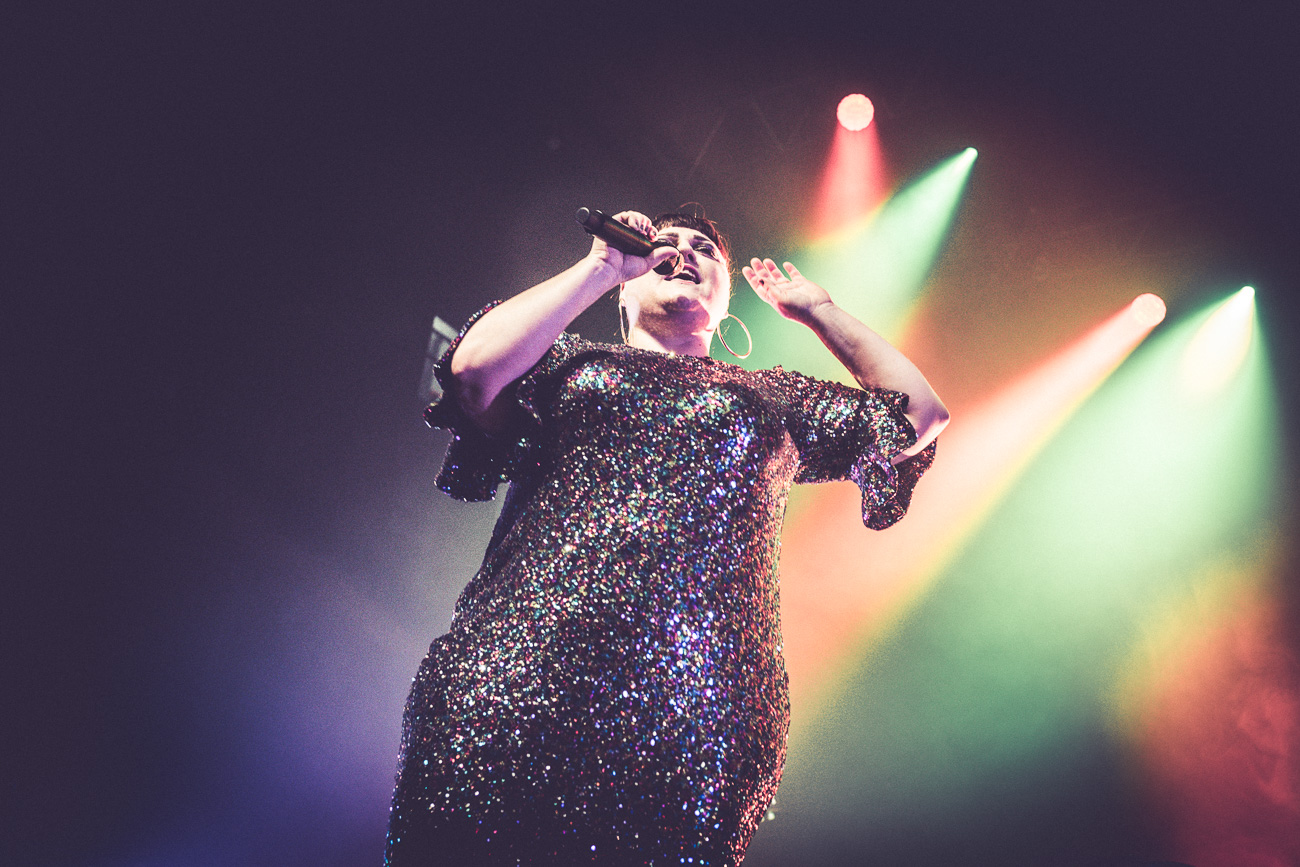 Beth Ditto à l'Aéronef 7